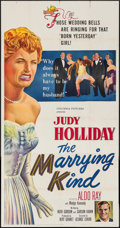 """Movie Posters:Comedy, The Marrying Kind (Columbia, 1952). Three Sheet (41"""" X 79"""").Comedy.. ..."""