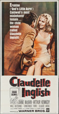 "Movie Posters:Drama, Claudelle Inglish (Warner Brothers, 1961). Three Sheet (41"" X77.5""). Drama.. ..."