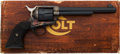 Handguns:Single Action Revolver, Boxed Colt Third Generation Single Action Army Revolver....