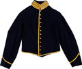 Militaria:Uniforms, Civil War Union Cavalry Enlisted Man's Shell Jacket Made by Rockhill & Wilson, Philadelphia....