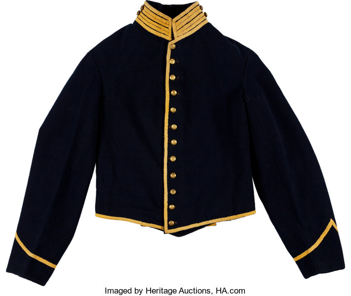 free shipping 48b90 255e8 Civil War Union Cavalry Enlisted Man's Shell Jacket Made by ...