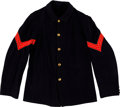 Militaria:Uniforms, Indian Wars Period Sergeant of Engineers Fatigue Blouse....