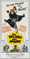 "Movie Posters:Comedy, The Trouble with Angels (Columbia, 1966). Three Sheet (41"" X 79"").Comedy.. ..."