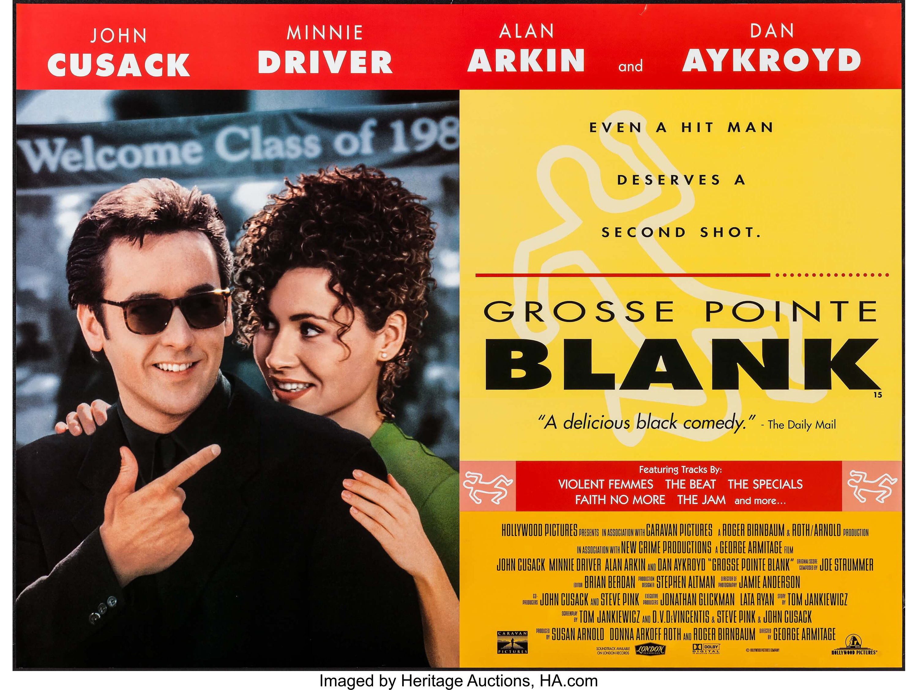 Grosse Pointe Blank & Other Lot (Buena Vista, 1997). British Quads | Lot  #54187 | Heritage Auctions
