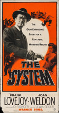 Movie Posters:Crime, The System (Warner Brothers, 1953). Three Sheet (4...