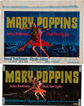 Animation Art:Limited Edition Cel, Mary Poppins Sheet Music Studio Display, Window Banner, andRelated Group (Walt Disney, 1964). ... (Total: 6 Items)