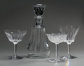 Decorative Arts, French:Other , A Twenty-Eight Piece Baccarat Glass Wine Service. Marks:BACCARAT FRANCE. 8 inches high x 4-1/4 inches diameter (20.3x ... (Total: 28 Items)