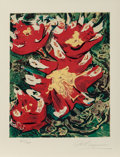 Prints & Multiples, David Alfaro Siqueiros (Mexican, 1896-1974). Untitled. from The Mexican Suite, 1968. Lithograph in colors on Arches pape...