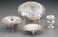 Silver Holloware, American:Other , Five Various American Silver Tablewares, 20th century. Variousmakers including Fisher, Wallace, S. Kirk & Son Inc., etc. ...(Total: 5 Items)