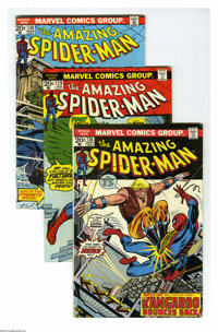 The Amazing Spider-Man Group (Marvel, 1973-75) Condition: Average FN. This group consists of 16 comics: #126, 128, 130 (...
