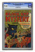 Golden Age (1938-1955):Horror, Black Cat Mystery #31 File Copy (Harvey, 1951) CGC VF/NM 9.0 Creamto off-white pages. Rudy Palais and Manny Stallman art. O...