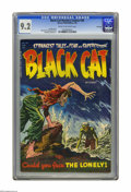 Golden Age (1938-1955):Horror, Black Cat Mystery #48 File Copy (Harvey, 1954) CGC NM- 9.2 Cream tooff-white pages. Lee ELias cover. Bob Powell, Howard Nos...