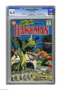 The Brave and the Bold #34 (DC, 1961) CGC FN+ 6.5 Off-white to white pages. Origin and first appearance of Silver Age Ha...