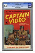 Golden Age (1938-1955):Science Fiction, Captain Video #2 (Fawcett, 1951) CGC FN 6.0 White pages. Photocover. George Evans art. Used in Seduction of the Innocent
