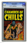 Golden Age (1938-1955):Horror, Chamber of Chills #11 File Copy (Harvey, 1952) CGC FN+ 6.5 Cream tooff-white pages. Lee Elias cover. Art by Bob Powell, Rud...