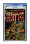 Golden Age (1938-1955):Horror, Chamber of Chills #12 File Copy (Harvey, 1952) CGC FN+ 6.5 Cream tooff-white pages. Al Avison cover. Warren Kremer and Rudy...