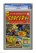 Bronze Age (1970-1979):Horror, Chilling Adventures in Sorcery #1 (Archie, 1972) CGC NM- 9.2 Whitepages. Sabrina cameo as narrator. Overstreet 2005 NM- 9.2...