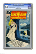 Bronze Age (1970-1979):Horror, Dark Mansion of Forbidden Love #4 (DC, 1972) CGC VF+ 8.5 Off-whitepages. Last issue of the title. Nick Cardy cover. Art by ...