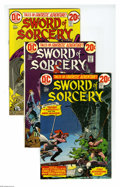 Bronze Age (1970-1979):Miscellaneous, DC Bronze Age Fantasy Group (DC, 1973-78) Condition: Average VF+.Sixty-issue group lot includes Sword of Sorcery #1, 2,... (60 ComicBooks)