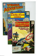 Silver Age (1956-1969):Miscellaneous, DC Silver Age Group (DC, 1959-63) Condition: Average VG-. Thisseven-issue lot (averaging VG- condition unless otherwise not... (7Comic Books)