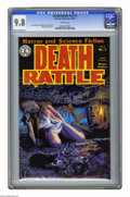 Modern Age (1980-Present):Horror, Death Rattle v2#1 (Kitchen Sink, 1985) CGC NM/MT 9.8 White pages.Richard Corben cover. Rand Holmes and Charles Burns storie...