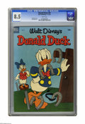 Golden Age (1938-1955):Cartoon Character, Donald Duck #32 (Dell, 1953) CGC VF+ 8.5 White pages. Paul Murrycover. Jack Bradbury art. Overstreet 2005 VF 8.0 value = $5...