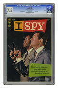 Silver Age (1956-1969):Mystery, I Spy #1 File Copy (Gold Key, 1966) CGC VF- 7.5 Off-white pages.Bill Cosby and Robert Culp photo cover. Al McWilliams art. ...