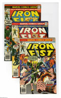 Bronze Age (1970-1979):Superhero, Marvel Premiere-Iron Fist Group (Marvel, 1974-77) Condition: Average VF. This 14-issue Iron Fist-themed group includes Mar... (14 Comic Books)