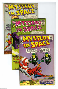 Mystery in Space #76-79 Group (DC, 1962) Condition: Average FN/VF. Four-issue group lot includes #76, 77, 78, and 79. Co...