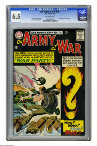 Our Army at War #151 (DC, 1965) CGC FN+ 6.5 Off-white pages. First appearance of Enemy Ace. Joe Kubert cover and art. Ov...