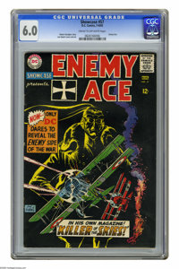 Showcase #57 Enemy Ace (DC, 1965) CGC FN 6.0 Cream to off-white pages. Fourth appearance of Enemy Ace. Joe Kubert cover...