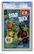 Bronze Age (1970-1979):Science Fiction, Star Trek #18 File Copy (Gold Key, 1973) CGC NM- 9.2 Off-white to white pages. Painted cover by George Wilson. Overstreet 20...