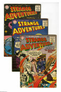 Golden Age (1938-1955):Science Fiction, Strange Adventures #62-64 Group (DC, 1955-56) Condition: AverageVG/FN. Three-issue group lot #62, 63, and 64. Featured arti... (3Comic Books)
