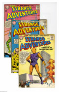 Silver Age (1956-1969):Science Fiction, Strange Adventures Group (DC, 1963-68) Condition: Average VF. Thisgroup lot of 14 issues includes #153 (Atomic Knights), 15... (14Comic Books)