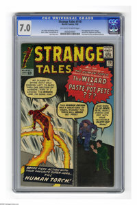 Strange Tales #110 (Marvel, 1963) CGC FN/VF 7.0 Off-white to white pages. First appearance of Doctor Strange. First appe...