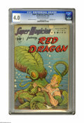 Golden Age (1938-1955):Science Fiction, Super Magician Comics v5#8 (Street & Smith, 1947) CGC VG 4.0Cream to off-white pages. Red Dragon cover and interior art by ...