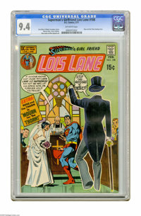 Superman's Girl Friend Lois Lane #108 (DC, 1971) CGC NM 9.4 Off-white pages. Rose and Thorn back-up story Art by Werner...