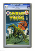 Bronze Age (1970-1979):Horror, Swamp Thing #13 (DC, 1974) CGC NM 9.4 White pages. Nestor Redondocover and art. Overstreet 2005 NM- 9.2 value = $18. CGC ce...