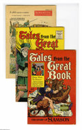 Golden Age (1938-1955):Religious, Tales From the Great Book and Others Group (Various, 1955-58).Five-issue group lot includes Tales From the Great Book #... (5Comic Books)