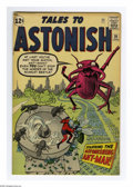Silver Age (1956-1969):Superhero, Tales to Astonish #39 (Marvel, 1963) Condition: FN. Jack Kirby cover. Art by Kirby (Ant-Man story), Don Heck, and Steve Ditk...
