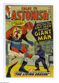 Silver Age (1956-1969):Superhero, Tales to Astonish #49 (Marvel, 1963) Condition: VF. Ant-Man becomes Giant Man. Don Heck cover. Jack Kirby and Larry Lieber a...