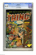 Golden Age (1938-1955):Horror, The Thing! #8 (Charlton, 1953) CGC FN 6.0 Off-white to white pages.Bob Forgione cover and art. Overstreet 2005 FN 6.0 value...