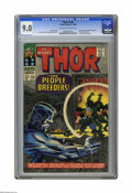 Silver Age (1956-1969):Superhero, Thor #134 (Marvel, 1966) CGC VF/NM 9.0 Off-white to white pages. First appearance of the High Evolutionary. Galactus cameo. ...