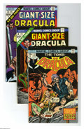 Bronze Age (1970-1979):Horror, Tomb of Dracula #31-50 Group (Marvel, 1975-76) Condition: AverageFN. Twenty three-issue group lot includes #31, 32, 33, 34,... (23Comic Books)