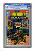 Modern Age (1980-Present):War, Unknown Soldier #266 (DC, 1982) CGC NM+ 9.6 Off-white to white pages. Joe Kubert cover. Art by Dick Ayers, Gerry Talaoc, Joh...