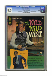 Wild, Wild West #1 File Copy (Gold Key, 1966) CGC VF+ 8.5 Off-white to white pages. Variant edition with photo back cove...