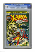 Bronze Age (1970-1979):Superhero, X-Men #94 (Marvel, 1975) CGC VF 8.0 Off-white to white pages. Debut of the new X-Men in this series. Second appearance of Co...