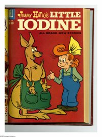 Little Iodine #37-48 Bound Volume (Dell, 1957-60). These are Western Publishing file copies that have been trimmed and b...
