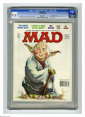 """Magazines:Mad, Mad #220 Gaines File Copy (EC, 1981) CGC NM/MT 9.8 White pages.""""The Empire Strikes Back"""" and """"Quincy"""" parodies. Jack Rickar..."""