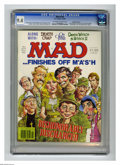 "Magazines:Mad, Mad #234 Gaines File Copy (EC, 1982) CGC NM 9.4 Off-white to whitepages. M*A*S*H cover and parody. ""Death Wish"" and ""On Gol..."